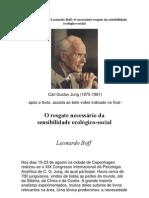 Carl Gustav Jung, Leonardo Boff e a urgente necessidade do resgate da sensibilidade ecológico-social