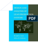 Design and Analysis of Lean Production Systems