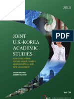 Joint Us-korea Academic Studies Volume 24 2013 Aas Papers Whole Book 0