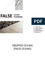 False Ceiling - Flooring