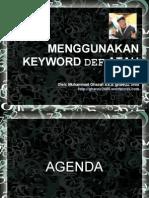 ghaNOZ 2480 - Menggunakan keyword def atau var