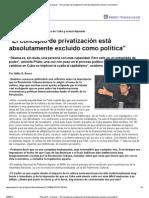 Atilio A. Boron - 'El concepto de privatización está absolutamente excluido como política'.pdf