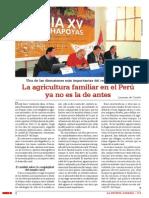 La Agricultura Familiar en El Peru