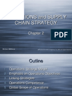 OPERATIONS and SUPPLY CHAIN STRATEGY