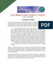 Patient Safety Program Medication Safety Notice 1 - Varenicline