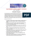 Patient Safety Program Medication Safety Notice 2 - Zonisamide