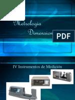 MD IV -- Instrumentos de Medicion