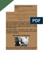 Rabí Yehuda Zvi Brandwein