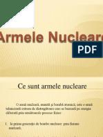 Armele Nucleare - Prezentare Powerpoint