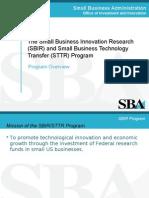 SBIR Program Overview