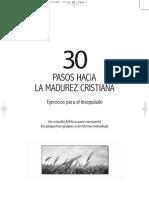 30 Pasos Hacia La Madurez