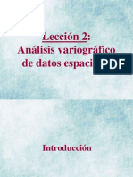 02 - Analisis variografico