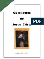 Os Milagres de Jesus Cristo