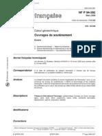 NF P 94-282_Ouvrages de Soutenement