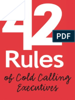 42rules of Cold.calling Executives