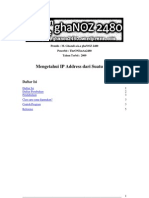 ghaNOZ2480 - Mengetahui IP address dari suatu host