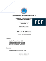 Proyecto Juego del Ahorcado elaborado en BlueJ (Java)