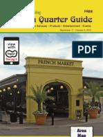French Quarter Guide September 2013