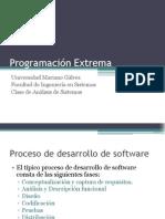 Programacion Extrema - Presentacion de La Clase