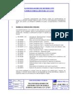 Norma Chilectra 6, TFs Distribucion Doble Enrrollado 12 y 23 kV