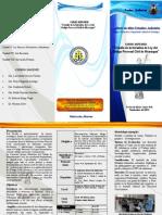 Brochure Para Curso Superior de Iniciativa de Ley Pr