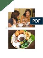 Những Món Bún trong thức ăn Việt Nam