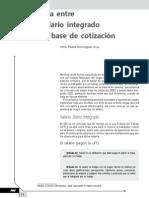 Diferencia entre salario diario integrado y salario base de cotización