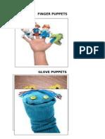 Finger Puppetsglove Puppets
