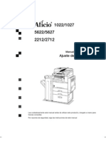 Lanier 5622 5627 Manual Del Sistema AF1022System_Set_OI_ES