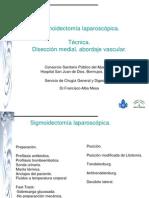 Sigmoidectomia x Laparoscopia