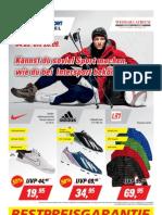 Sportalarm bei INTERSPORT GIESSÜBEL