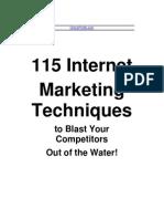115 Internet Marketing Ideas