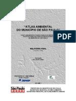 Atlas Ambiental do Município de São Paulo -  2002