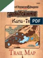 Tsr09402 - AD&D Accessory - FR-KT - Kara Tur Trail Map