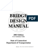 CT Bridge Design Manual