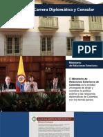 Presentación Carrera Diplomatica y Consular  2015