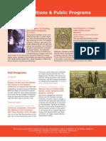 Public Programs at The Magnes Fall 2013