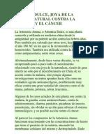 Artemisa Contra El Cancer
