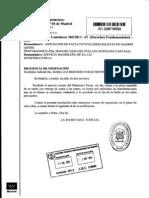 Escrito del fiscal sobre la privatización de la privatización de la sanidad de la Comunidad de Madrid