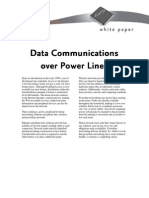Data Communications Over PowerLines