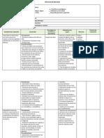 Ejemplo de planificación anual para preescolar basada en competencias