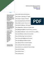Agenda - September 10, 2013