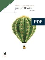 IPG Fall 2009 Spanish catalog