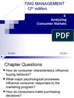 Analysing Consumer Market