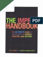 Tom Salinsky - The Improv Handbook (B&W)
