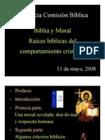 Biblia y Moral Intercatedras 2011