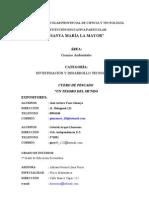 XXX FERIA ESCOLAR PROVINCIAL DE CIENCIA Y TECNOLOGÍA