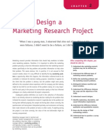 How to design a Marketing Project