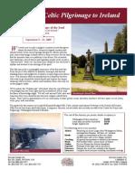 Itinerary--Celtic Pilgrimage to Ireland