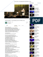 Dead Can Dance - Ime Prezakias [LIVE in ATHENS 2012] - YouTube